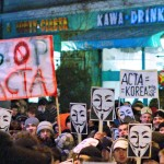 Anti-ACTA protests in Poland